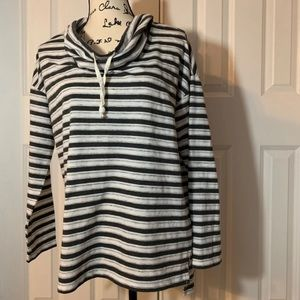 5 for $25 St. John's Bay striped sweater size L